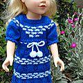 Adaptation robe layette pour poupée journey girl...