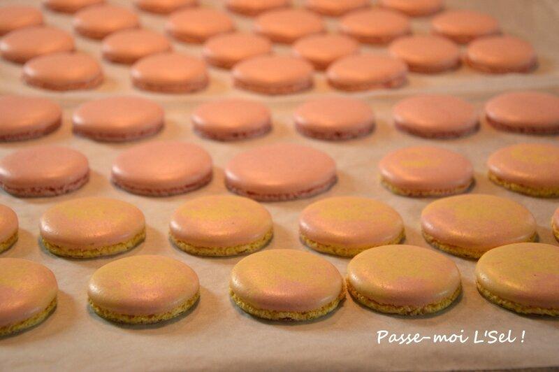 Macarons à la meringue italienne