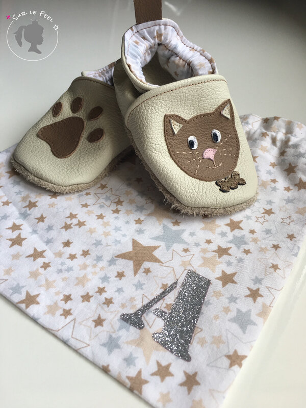 Chaussons Chat 2