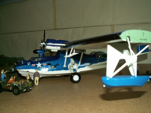 maquette du PBY- CATALINA (version 1948) (6)