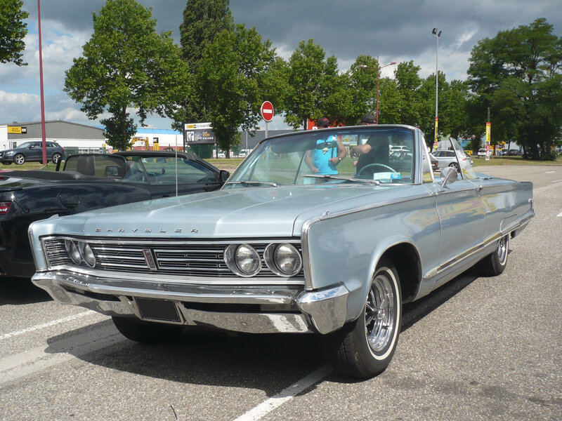 CHRYSLER Newport 2door convertible 1966 Vendenheim (1)