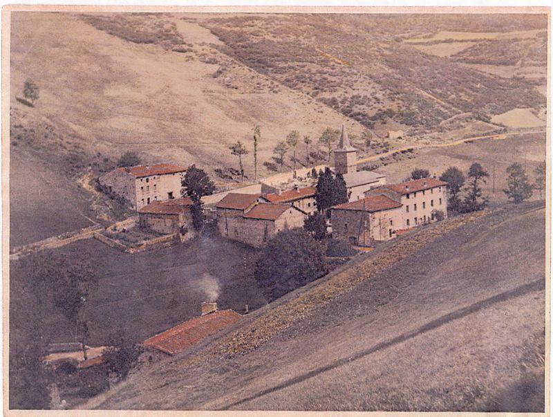 Le village en 1950 (2)