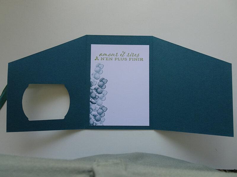 7e Carte Triptyque Pour une amie qui me fait sourire