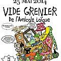 Vide grenier du 25 mai 2014
