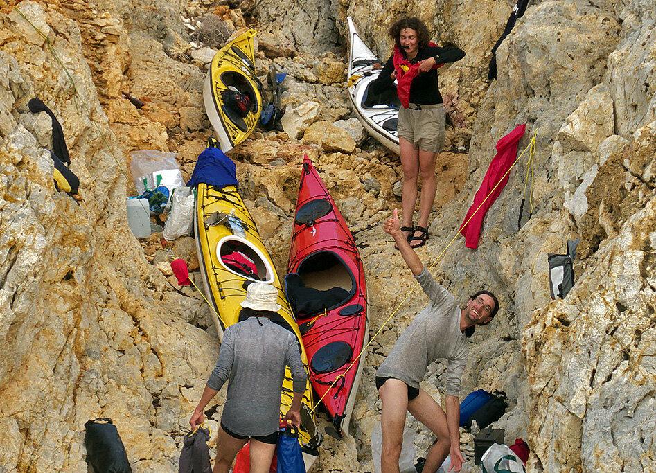 Gioura, il n'y a pas de plage !— P1010556