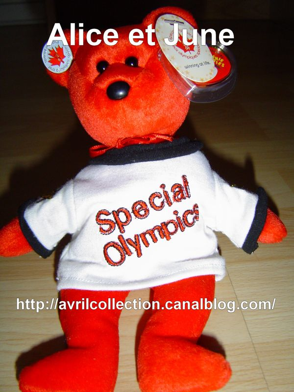 Peluche des jeux olympiques 2004