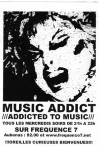 Music Addict - logo Face Book