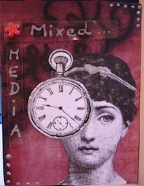282 - mixed media time