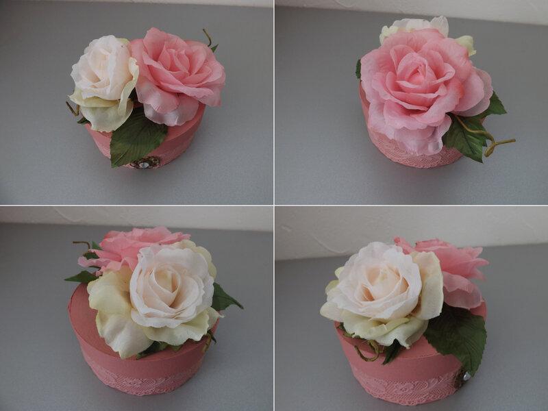 Boîte ronde roses (4)