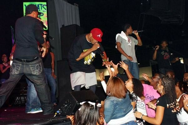 OC & Fabo on stage