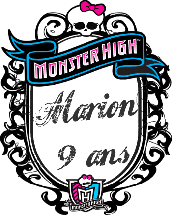 Anniversaire Monster High Fille 9 ans