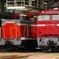 DE 11 1045 + EF 81 133, Tabata depot