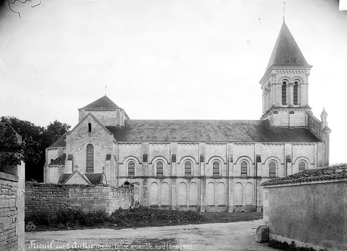 1894, l'abbaye de Nieul sur l'Autize est désertée (3)