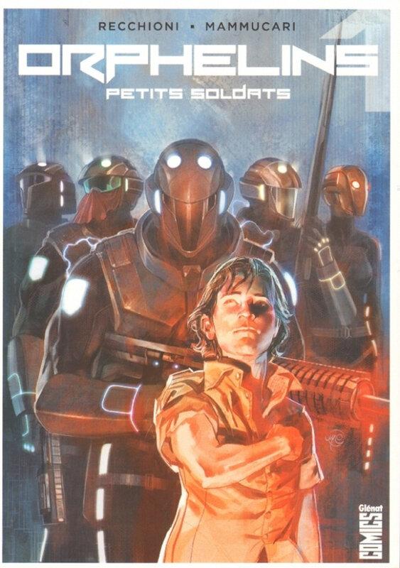 glénat orphelins 01 petits soldats
