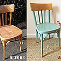 chaise bistrot style Baumann Thonet