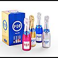 Pop - champagne - coffret collector 2014 - pommery