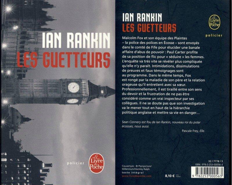 4 -Les guetteurs - Ian Rankin
