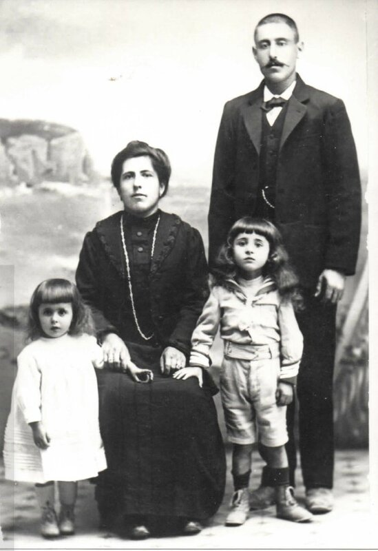 Perrin Marius et sa famille