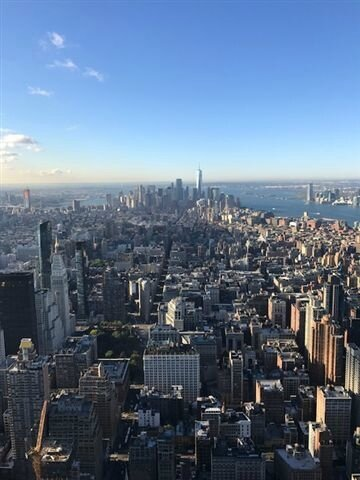 NYC vu de l'Empire State Building ©Kid Friendly