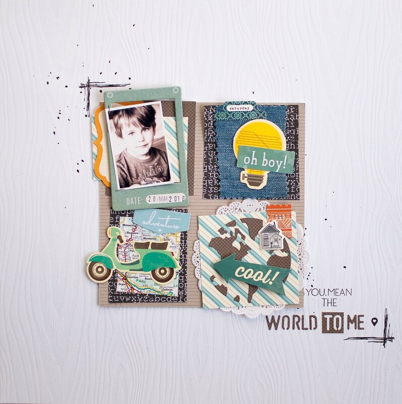 Nine - défi 2 - fil and scrap