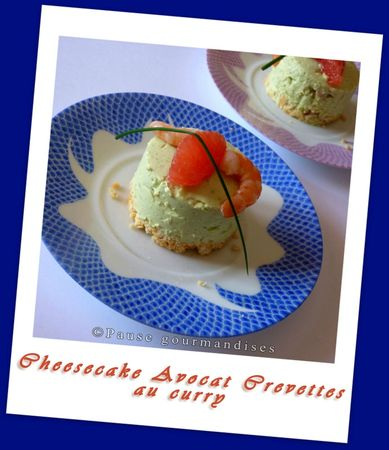 Cheesecake avocat crevettes au curry (17)