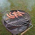 Barbecue à buches