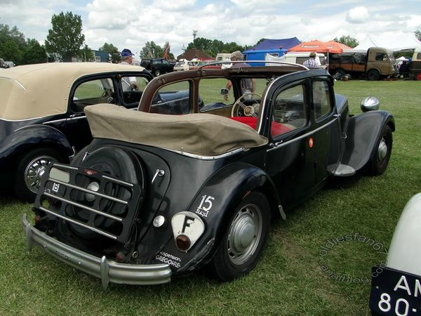 citroen traction 15 cv decouvrable 4