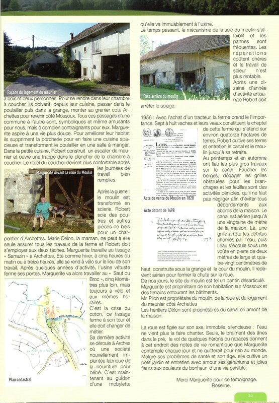 Moulin 2 Bulletin Communal Mossoux-La Baffe 2012