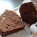 Cake choco-cacahuètes