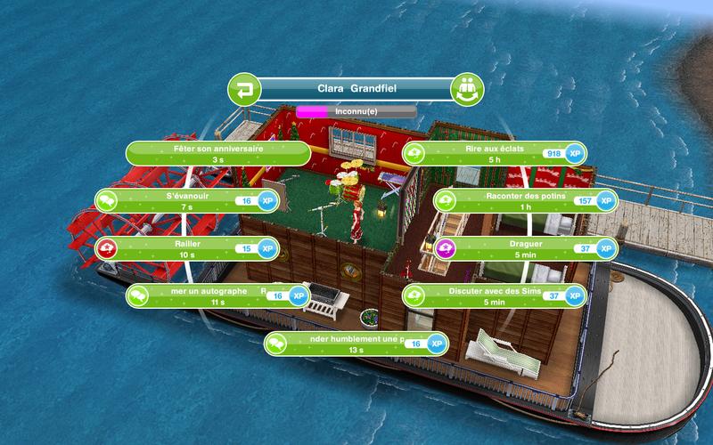 rencontres Sims sur iPad