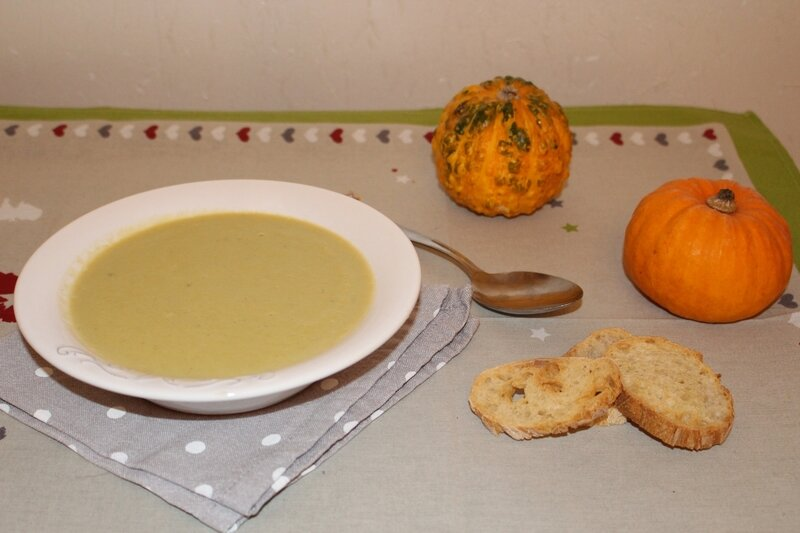 soupe topinambours