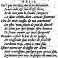 Sonnet xxiii - louise labé