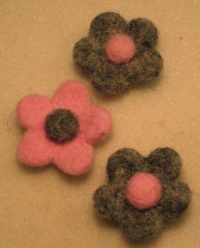 Fleurettes cardées