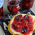 Confiture de quetsches à la vanille (en map)