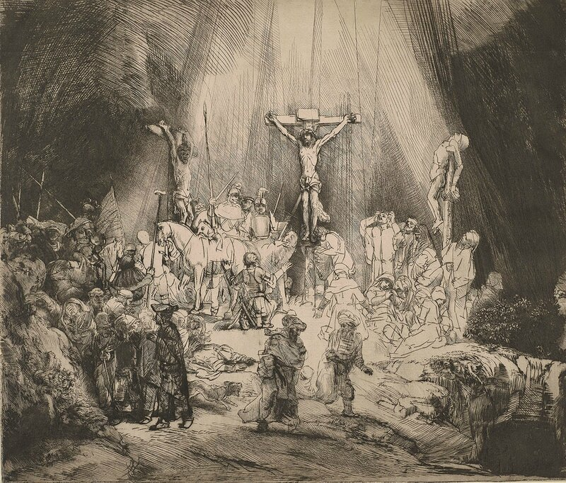 11-Christ-Crucified-Between-the-Two-Thieves-The-Three-Crosses