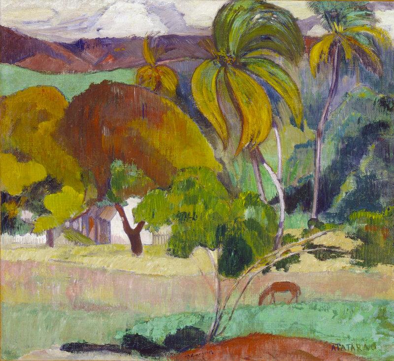 Landscape from Tahiti, c