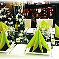 Mes décorations de table et de cadeaux avec tamping'up