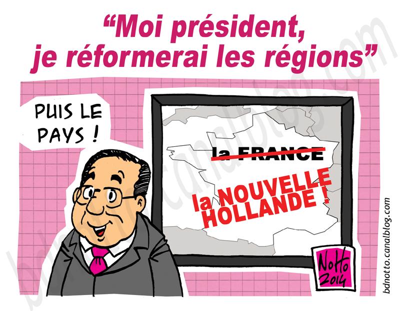 06 - 2014 - Régions Hollande