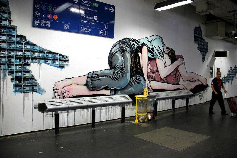 6-Quai 36- Gare du Nord- Jana und Js_9909