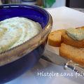 Caviar de fonds d'artichauts... version fromagère