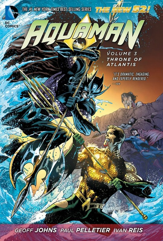 aquaman vol 3 throne of atlantis TP