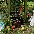 Bebe reborn toddler feerique : le pressoir a raisin et a pommes