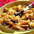 Curry de poulet & ses pommes de terre