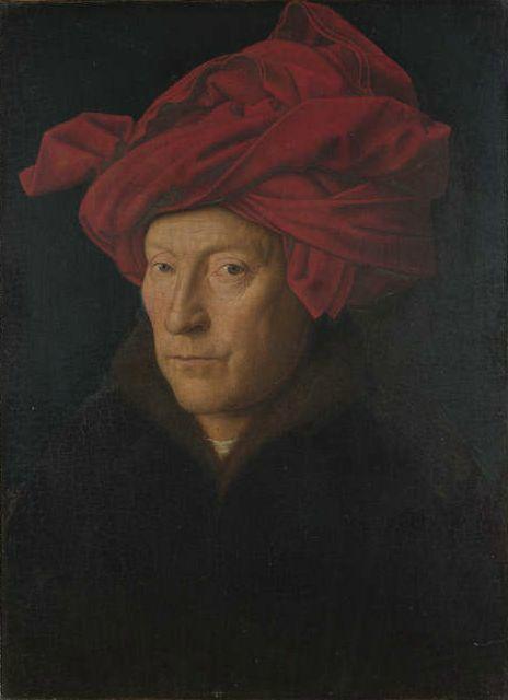van eyck autoportrait