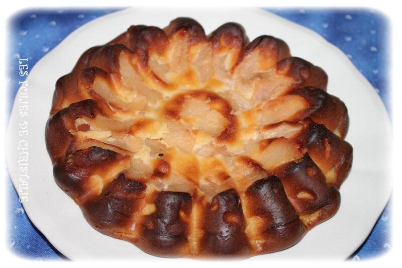 Flan pommes mascarpone 2