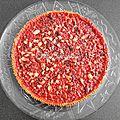 ...tarte aux pralines roses... (sébastien bouillet, lyon)