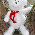 Tuto amigurumi : ours polaire