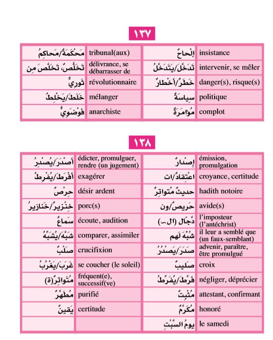 Qissas voc 137-138