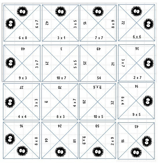 solution square tables