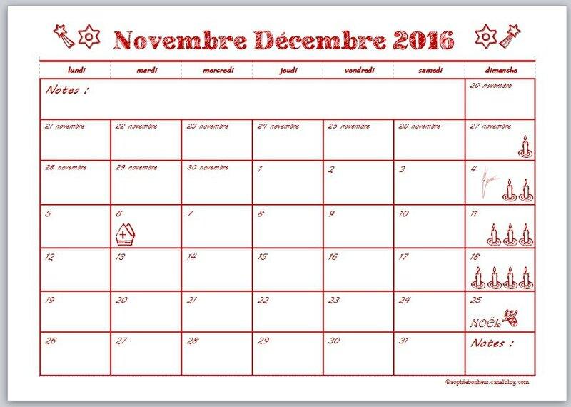 Préparer Noël 2016